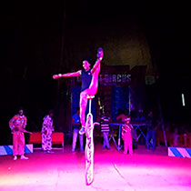 African Solo Acrobat 108739