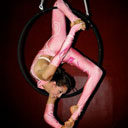 Aerial Hoop Aerial Silk Contortion