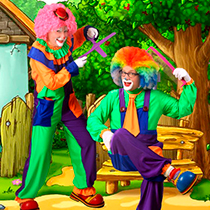 Clowns Duo 105173