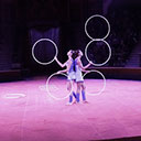 Hoop Juggling Duo 10360