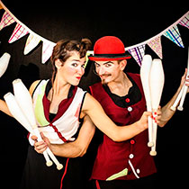 Juggling Duo 105884