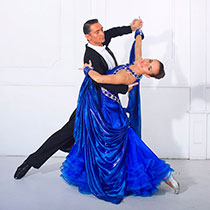 Ballroom Dance Couple 105845