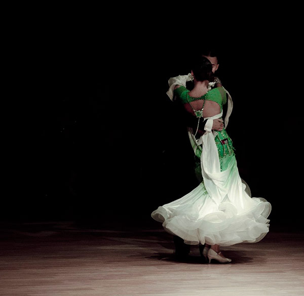Ballroom Dance Couple 107028 International Talent Agency