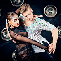 Ballroom Latin Couple 107347