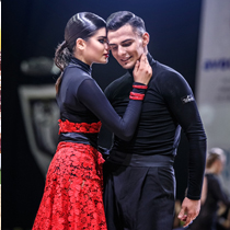 Ballroom Latin Couple 108785