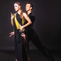 Ballroom Latin Couple 109922