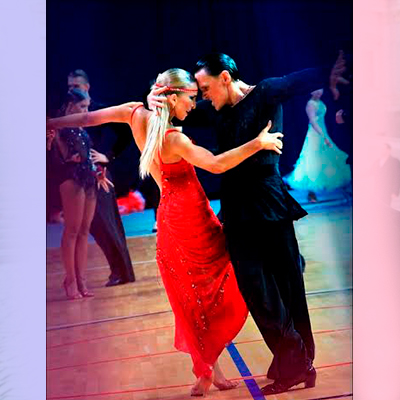 Ballroom Latin Couple 1361