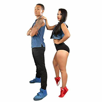 Salsa Couple 108333