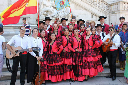 Spanish Dance Group 9207/ International Talent Agency ...