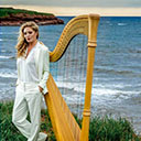 Female Harpist 105661