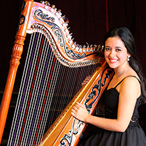Female Harpist 106842
