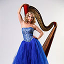 Female Harpist 6971