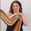Female Harpist 8733