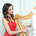 Female Harpist 9843
