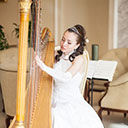 Female Harpist 9846
