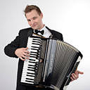 Accordion Player 10258
