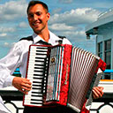 Accordion Player 106480