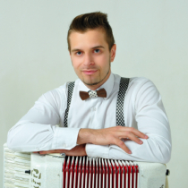 Accordion Player 9343