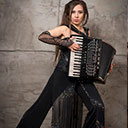 Accordion Player 9344
