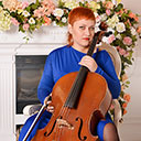 Female Cello Player 105025