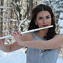 Female Flute Player 8323