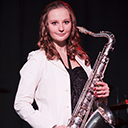 Female Saxophonist 105532
