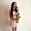 Female Saxophonist 105649