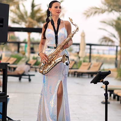 Female Saxophonist 106587