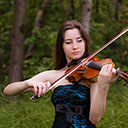 Female Violin Player 9798