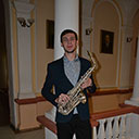 Male Saxophonist 10062