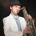 Male Saxophonist 104922