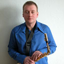 Male Saxophonist 105842