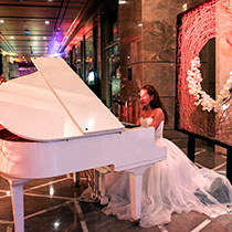 Female Pianist 107602