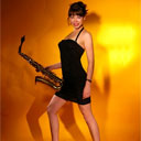 Female Singer Saxophone Player 5137