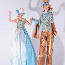 Stilts Walkers 106406