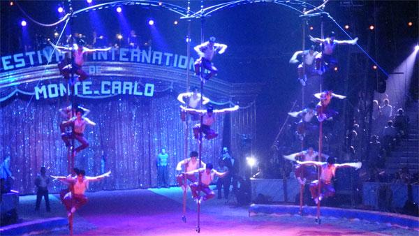 Flying Poles
