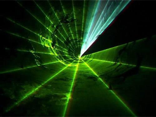 Laser Fire Smoke Show