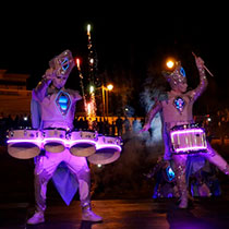 Led Drummers 106051